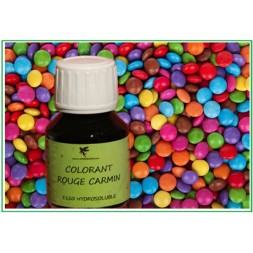 colorant naturel rouge carmin