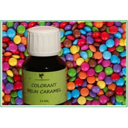 Colorant Brun caramel naturel
